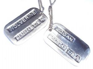 WOLVERINE US military version army DOGTAG
